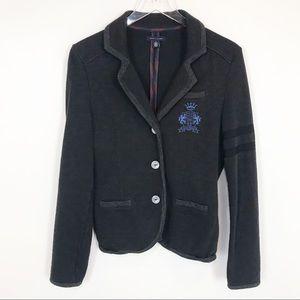 Tommy Hilfiger preppy cotton logo blazer